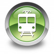Stockfoto: Icon, Button, Pictogram with Train, Mass Transit symbol