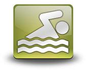 Icon, Button, Pictogram Swimming — Stock Photo