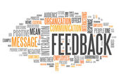 Word Cloud Feedback — Stock Photo