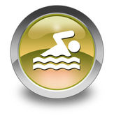 Icon, Button, Pictogram Swimming — Стоковое фото