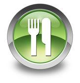 Icon, Button, Pictogram -Eatery, Restaurant- — Stock Photo