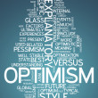 Word Cloud Optimism — ストック写真 #41671745
