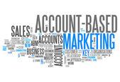 "Word Cloud ""Account-Based Marketing"" — Stock Photo"