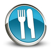 Icon, Button, Pictogram -Eatery, Restaurant- — Foto de Stock
