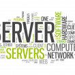 Word Cloud Server — Stock Photo #41857153