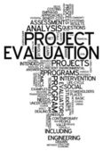 Word Cloud Project Evaluation — Stock Photo