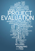 Word Cloud Project Evaluation — Stockfoto