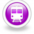 "Stock Photo: Icon, Button, Pictogram ""Train, Mass Transit"""