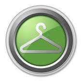 Icon, Button, Pictogram Coat Hanger — ストック写真