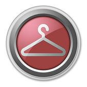 Icon, Button, Pictogram Coat Hanger — Stock Photo