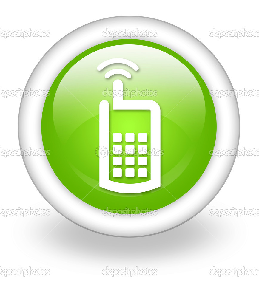 Simbolos de Telefone Celular Telefone Celular — Fotos