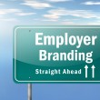 Highway Signpost Employer Branding — Stock Photo #42630323