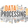 Word Cloud Data Processing — Stock Photo #42631957