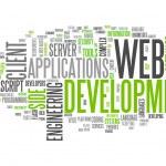 Word Cloud Web Development — Foto de Stock   #42632001