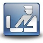 Icon, Button, Pictogram Customs — Stock Photo #42815535