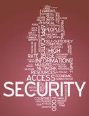 Word Cloud Security — Photo