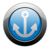 Icon, Button, Pictogram Marina — Stock Photo