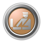 Icon, Button, Pictogram Customs — Stock Photo