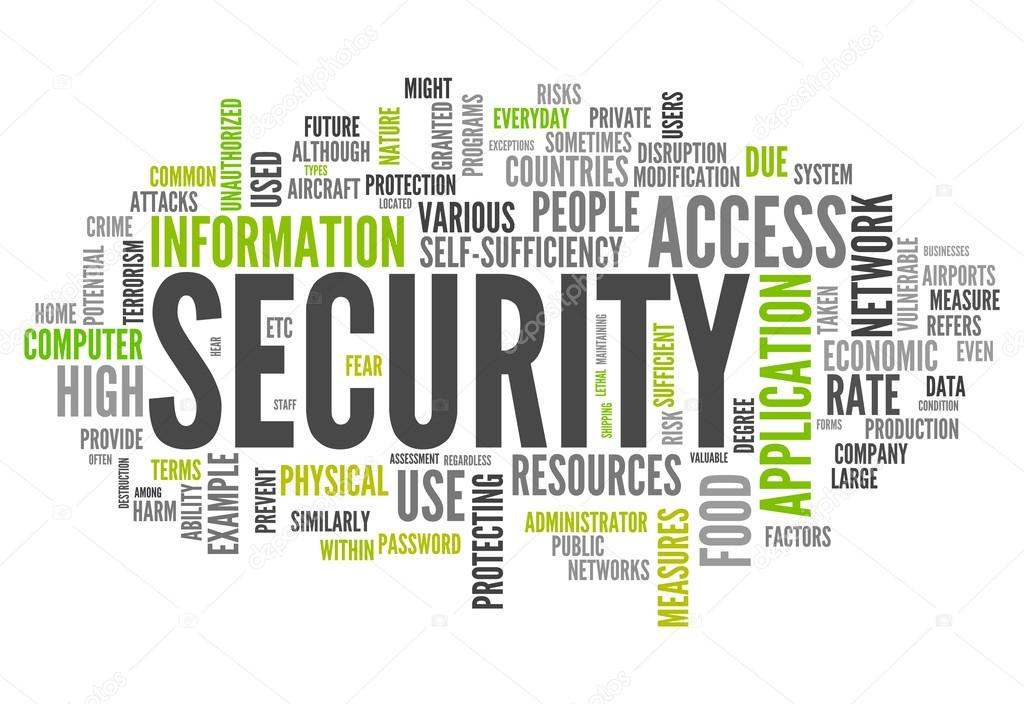Word Cloud Security Stock Photo 169 Mindscanner 42815485
