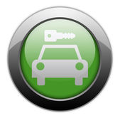Icon, Button, Pictogram Car Rental — Stock Photo