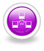Icon, Button, Pictogram Network — Stockfoto
