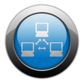 Icon, Button, Pictogram Network — Stock Photo