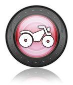 Icon, Button, Pictogram ATV — Stock Photo