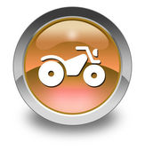 Icon, Button, Pictogram ATV — Stock Photo