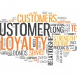 Word Cloud Customer Loyalty — Stock Photo #43574433