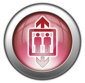 Icon, Button, Pictogram Elevator — Zdjęcie stockowe