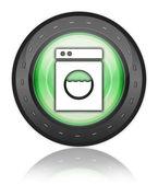 Icon, Button, Pictogram Laundromat — Stock Photo