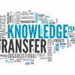 Word Cloud Knowledge Transfer — Stock Photo #43746247