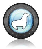 Icon, Button, Pictogram Seal — Stock Photo