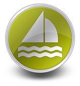 Icon, Button, Pictogram Sailing — Stock Photo