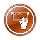 Icon, Button, Pictogram ATM — Stock Photo
