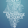 Word Cloud Enterprise Resource Planning — Stock Photo #45044409