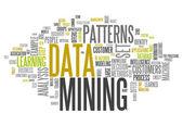 Word Cloud Data Mining — ストック写真