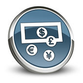 Icon, Button, Pictogram Currency Exchange — Stock Photo