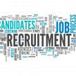 Word Cloud Recruitment — Stock Photo #45995891