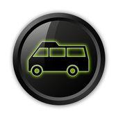 Icon, Button, Pictogram Van — Stock Photo