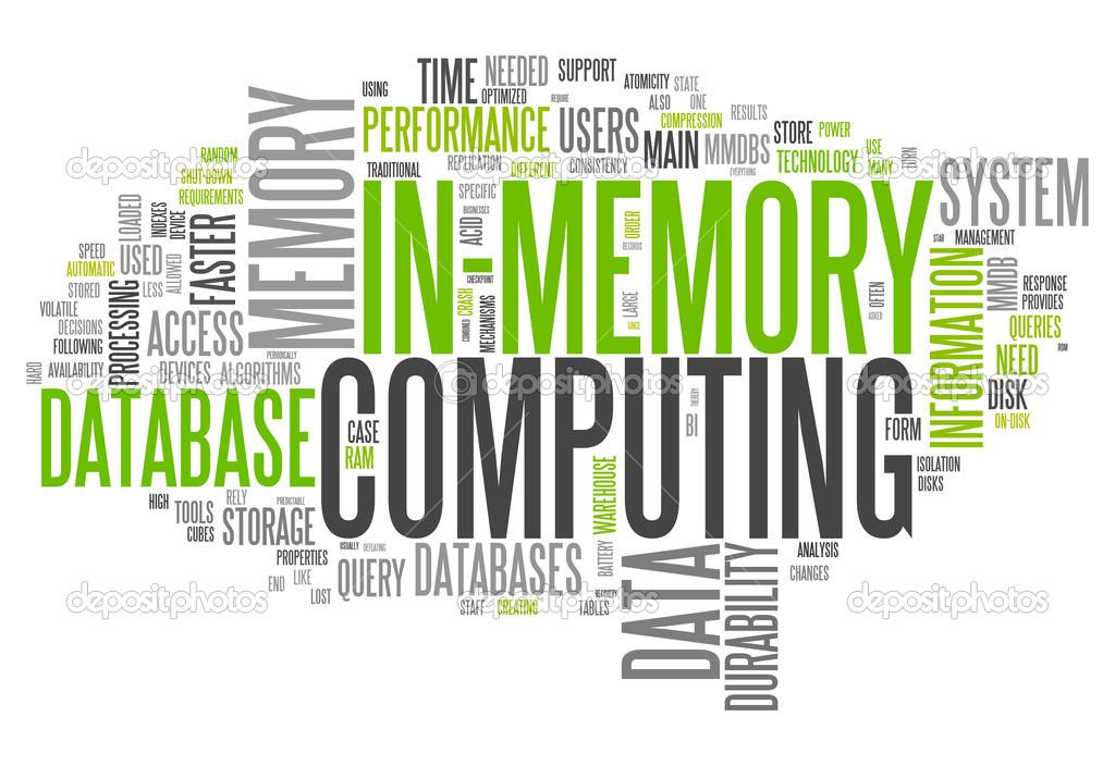 Word Cloud In-Memory Computing — Stock Photo © mindscanner #49438407