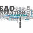 Word Cloud Lead Generation — Stock Photo #49665271