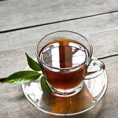 Uma xícara de chá — Fotografia Stock