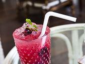 Berry soda — Stock Photo