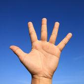 Hand sign — Stock Photo