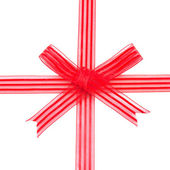 赤いリボン — ストック写真