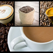Coffee collage  — Lizenzfreies Foto