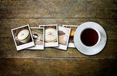 Coffee and film — Stock Photo