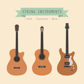 String instrument — Stock Vector