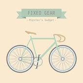 Fixed gear — Stock Vector